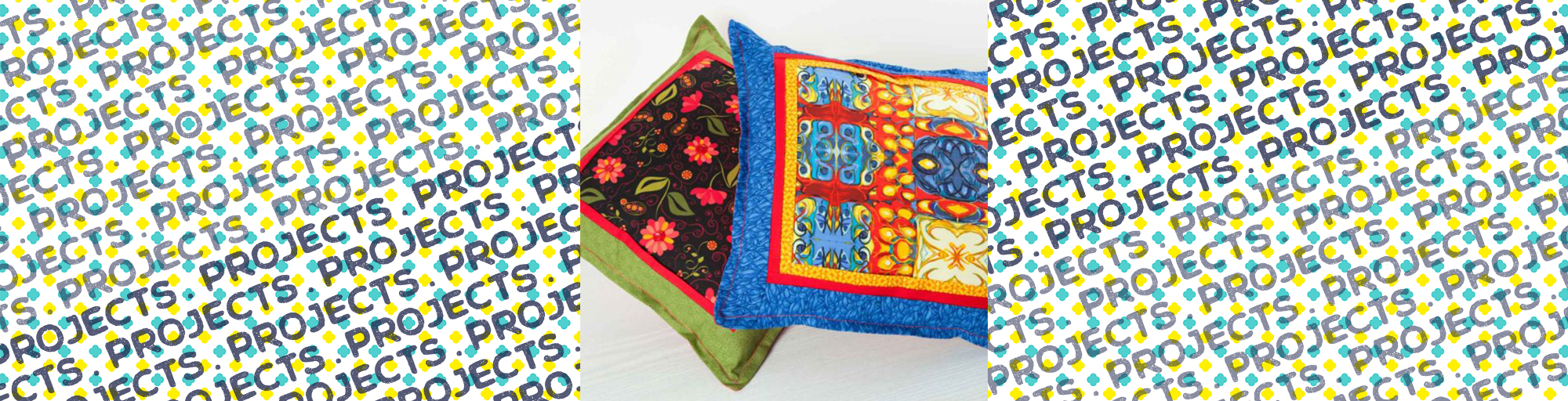 janome sewing project diy cushion